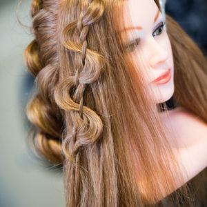 ©CécileCayon - Pop Hair Formation - Chignon bohème